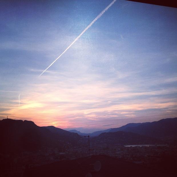 Sun Rise Over Como, Italy